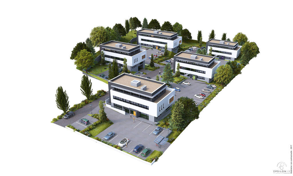 DOM&TERRE _ a vendre - vente - acheter - ach bureaux quimper 29000 BUREAUX DIM&TERRE QUIMPER A VENDRE
